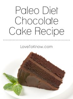 People on the paleo diet often miss sweets and baked goods. Fortunately, there are a number of ingredients that you can use to create delicious treats that are paleo friendly. This chocolate cake uses all paleo-friendly ingredients such as nut flour, as well as an icing made from avocados. | Paleo Diet Chocolate Cake Recipe from #LoveToKnow