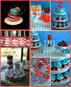 Fantastic compilation of Seuss parties, including a picture of little ol' me. ;)