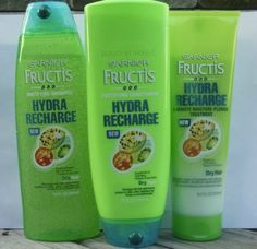 Garnier Fructis Hydra Recharge conditioner is amazing for dry hair. via @Beauty by Arielle