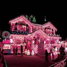i would totally decorate my house like this