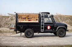Mobile Coffee Land Rover
