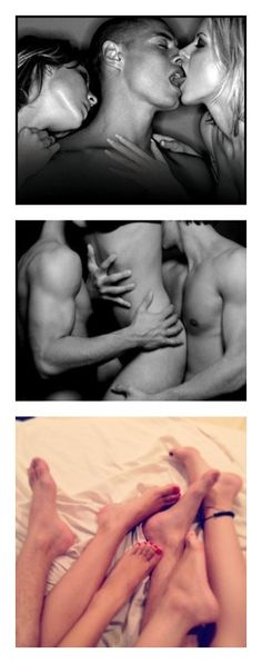 """threesome"" by nsfw ❤ liked on Polyvore featuring couples, images, people, pictures and sex"