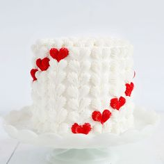 Making a surprise-inside cake can be easy AND fun! While I love a good surprise-inside, the hearts of the outside of the cake are my favorite part! Todo the buttercream decoration on this heart surprise inside cake you will need: buttercream recipe McCormick® red food color (about 1/2 to 1 teaspoon for a deep red)...