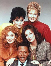 I believe this show was back to back with Katie and Allie. All the cast had funny lines to make us laugh but there were a few episodes that were serious in nature. Dixie Carter, Jean Smart, Delta Burke, Classic Comedies, Tv Show Quotes, Vintage Tv, Classic Tv, Best Shows Ever, Best Tv