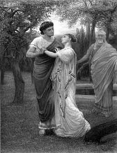 Troilus and Cressida by Valentine Walter Bromley.  I might use this as inspiration in my Shakespeare study.