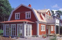 Maybe this one? I just love old fashioned swedish house designs.