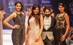 AD SINGH Couture show at the pune style week with the gorgeous Pooja chopra. AD SINGH showcased the latest range of designer cocktail gowns and more.