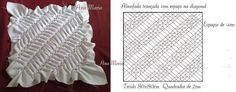 capitone Textile Manipulation, Fabric Manipulation Techniques, Smocking Patterns, Quilt Patterns, Sewing Patterns, Diy Cushion Covers, Canadian Smocking, Stitching Dresses, Smocks