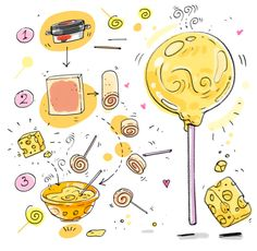 Cartoon Cooking: El Chupa Chups de Paté glorioso :)