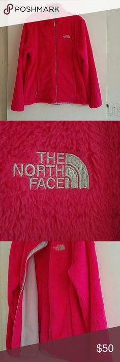Northface Osito Fleece Jacket Hot pink lightweight Northface jacket North Face Jackets & Coats Puffers