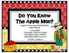 The Apple Man - A Johnny Appleseed Song