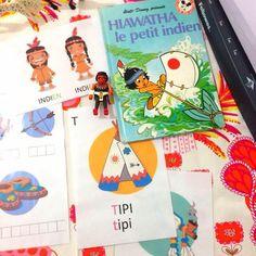 fiches montessori indiens d'amérique                                                                                                                                                                                 Plus