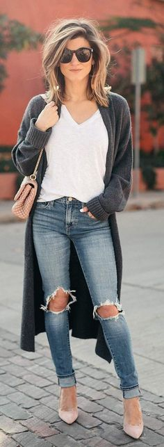 Simple And Beautiful Style Fashion Ideas Suitable For Spring 41
