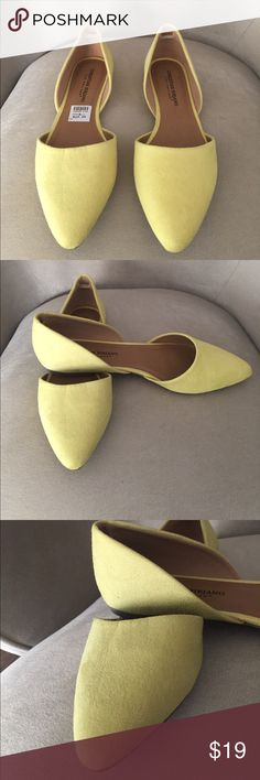 New Listing! New, never worn. No box. Christian Siriano for Payless. Brand new. Fun yellow color! Christian Siriano Shoes Flats & Loafers