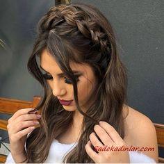 12 Easy Braids For Long Hair - Frisur ideen - Cheveux Box Braids Hairstyles, Pretty Hairstyles, Wedding Hairstyles, Bridesmaids Hairstyles, Hairstyles For Long Hair Prom, Hair For Prom, Pretty Braided Hairstyles, Updos Hairstyle, Long Hairstyles