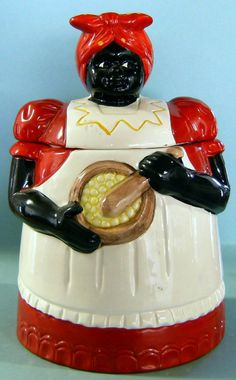 MAMMY COOKIE JAR ''NEW ORLEANS SYTLE'', SMALL, MAD