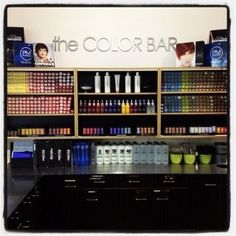 """Paul Mitchell the School Houston """"the COLOR BAR"""""""