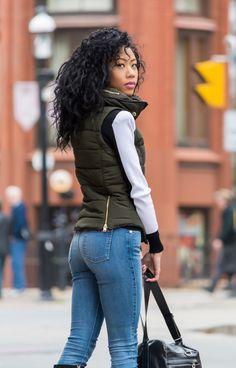 BlasianGurl, Victoria Kristine, Weekend Uniform, H&M, Balmain Paris, H&MxBalmain, Toronto, Toronto Blogger, Style Blogger, Fashion Blogger, 7 For All Mankind, Denim, St. Lawrence Market, Fall Look