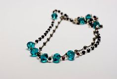 long or double strand rosary necklace by MICETTESGARDEN on Etsy, €29.00