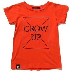 Mini and Maximus Don't Grow Up tee / Now at www.xylokids.com
