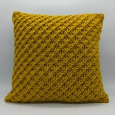 STAR STITCH cushion cover Knitting pattern by Freda Moss Designs - Loom knitting Knitted Cushion Covers, Cushion Cover Pattern, Knitted Cushions, Knitted Cushion Pattern, Christmas Knitting Patterns, Knitting Patterns Free, Crochet Patterns, Free Knitting, Loom Knitting