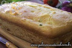 #BomDia! Quem no café da manhã resiste a um Bolo de Fubá com Queijo Coalho saído do forno, bem quentinho, hein? É #SemGlúten!  #Receita aqui: http://www.gulosoesaudavel.com.br/2014/04/24/bolo-fuba-queijo-coalho/