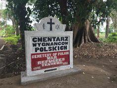 Polish cementary in Tanzaniia; R.I.P.;  autor: wPolityce.pl