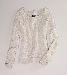 Cute cream colored American Eagle sweater