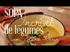 Sopa de Legumes Incrível com bróculos crocante - YouTube