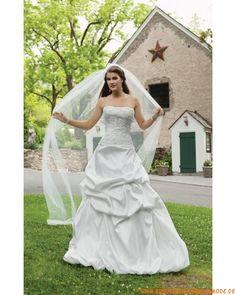 Liebstes schönes Brautkleid für Prinzessin aus Satin