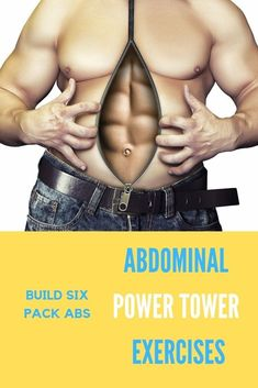 Easy ab exercises guide of the 5 best power tower ab exercises. Sculpt the perfect six pack abs in under 10 minutes with the power tower machine exercises. Exercise For Six Pack, Six Pack Abs Workout, Workout For Flat Stomach, Flat Abs, Tummy Workout, Flat Tummy, Easy Ab Workout, Abs Workout For Women, Workout Guide