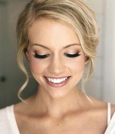Kelsey's bridal makeup #lipstickcolorswedding