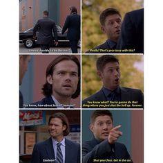 Poor Sammy, all left out I. The ships • Supernatural •