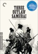 This first feature by the legendary Hideo Gosha is among the most beloved chanbara (sword-fighting) films. An origin-story offshoot of a Japanese television phenomenon of the same name, Three Outlaw Samurai is a classic in its own right. A wandering, seen-it-all ronin (Tetsuro Tamba) becomes entangled in the dangerous business of two other samurai (Isamu Nagato and Mikijiro Hira), hired to execute a band of peasants who have kidnapped the daughter of a corrupt magistrate.