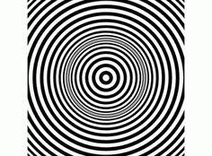 Wow, da wird einem ja richtig schwindlig! #Hypnose #Optische-Täuschung
