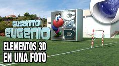 Tutorial cinema4d integrar objetos 3D en fotos by @ildefonsosegura