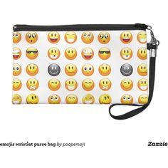 emojis wristlet purse bag (420 HRK) ❤ liked on Polyvore featuring bags, handbags, emoji, wristlet purse, wristlet handbags, white wristlet, white purse and white handbags