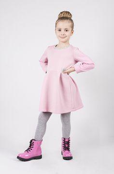Sukienka Marcy Pudrowy Róż w Dodo. na DaWanda.com #niezchinzpasji