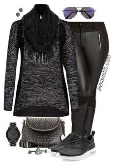 Plus Size Fashion - Weekend Casual Outfit - Alexa Webb - alexawebb.com #plussize #alexawebb