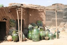 Céramique verte traditionnel de Tamegroute