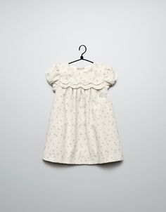 wavy corduroy dress - Collection - Mini (0-9 months) - Kids - ZARA United Kingdom