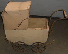 dachbodenfund puppen wagen alt antik um 1910 puppenwagen unrest.kinder spielzeug