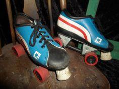 Retro Rollerskates sz 8 womens by rtrorn on Etsy, $19.95