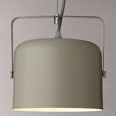 Buy John Lewis Bjorn Single Flood Ceiling Light, Putty Online at johnlewis.com