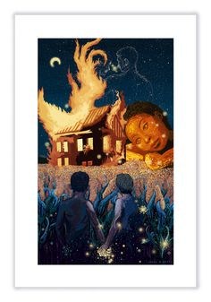 Don't Save Us From the Game (Limited Edition of 45) – James R. Eads Illustration