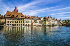By a hobby fotografer Louvre, Building, Travel, Life, Lucerne, River, Viajes, Buildings, Destinations