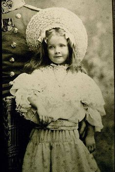 Marlene Dietrich as a girl!!! What a pretty little girl. I really like this photo!