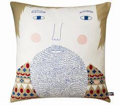 Pillow by Donna Wilson (via Print & Pattern)