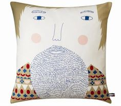 Pillow by Donna Wilson (via Print & Pattern)