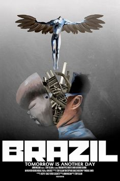 Movie poster project for Terry Gilliam's Brazil Brazil, directed by Terry Gilliam Terry Gilliam, Film Pictures, Sci Fi Movies, Scary Films, Foreign Movies, Alternative Movie Posters, Cinema Posters, Movie Poster Art, About Time Movie